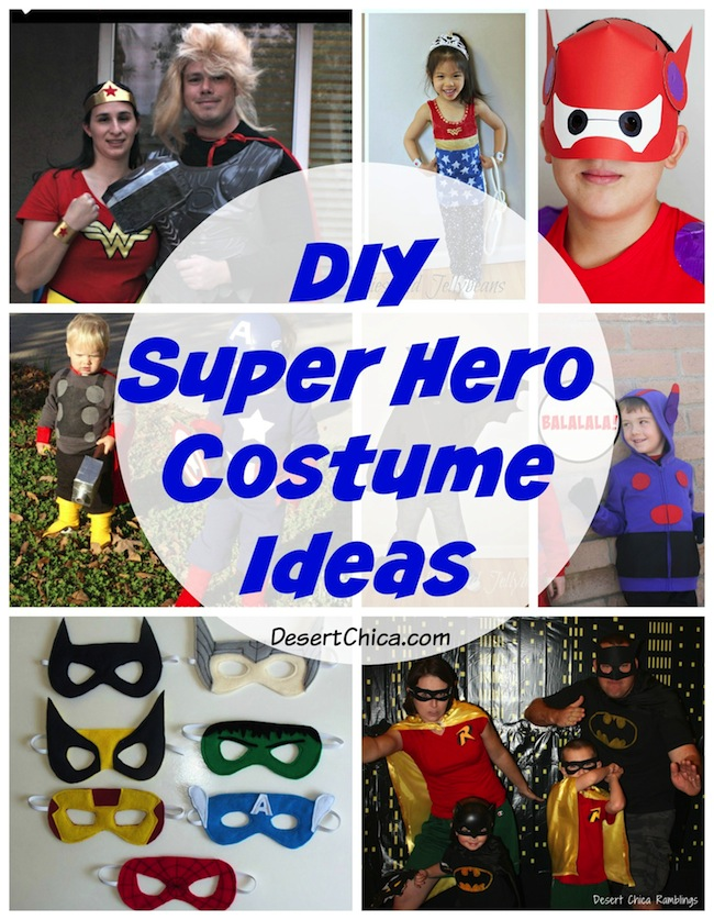 DIY Super Hero Costume Ideas