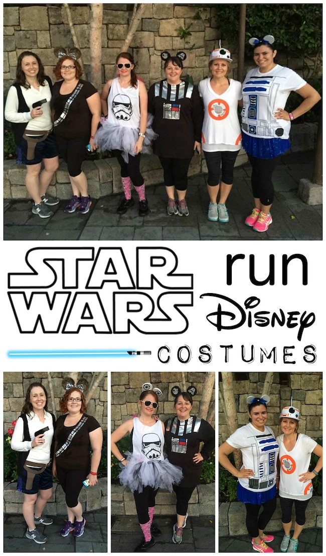Star Wars Running Costumes