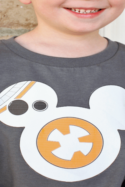 Star Wars BB-8 Droid Shirt