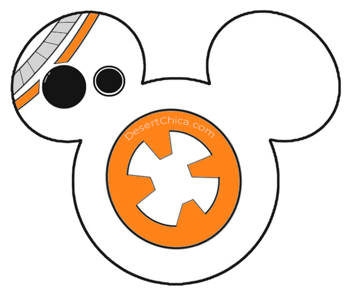 Star Wars BB-8 Shirt Template Graphic