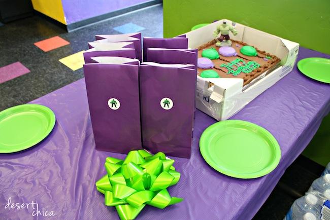 AZ Air Time Birthday Party Table