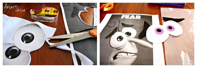Fear Eyes Inside Out Costume