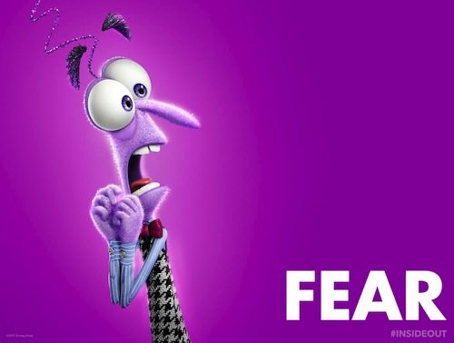fear inside out character