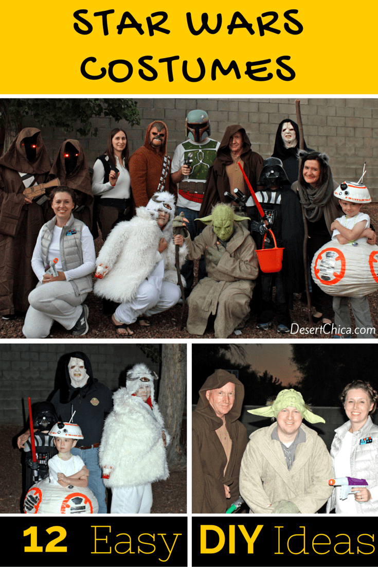 12 DIY Star Wars Costume Ideas