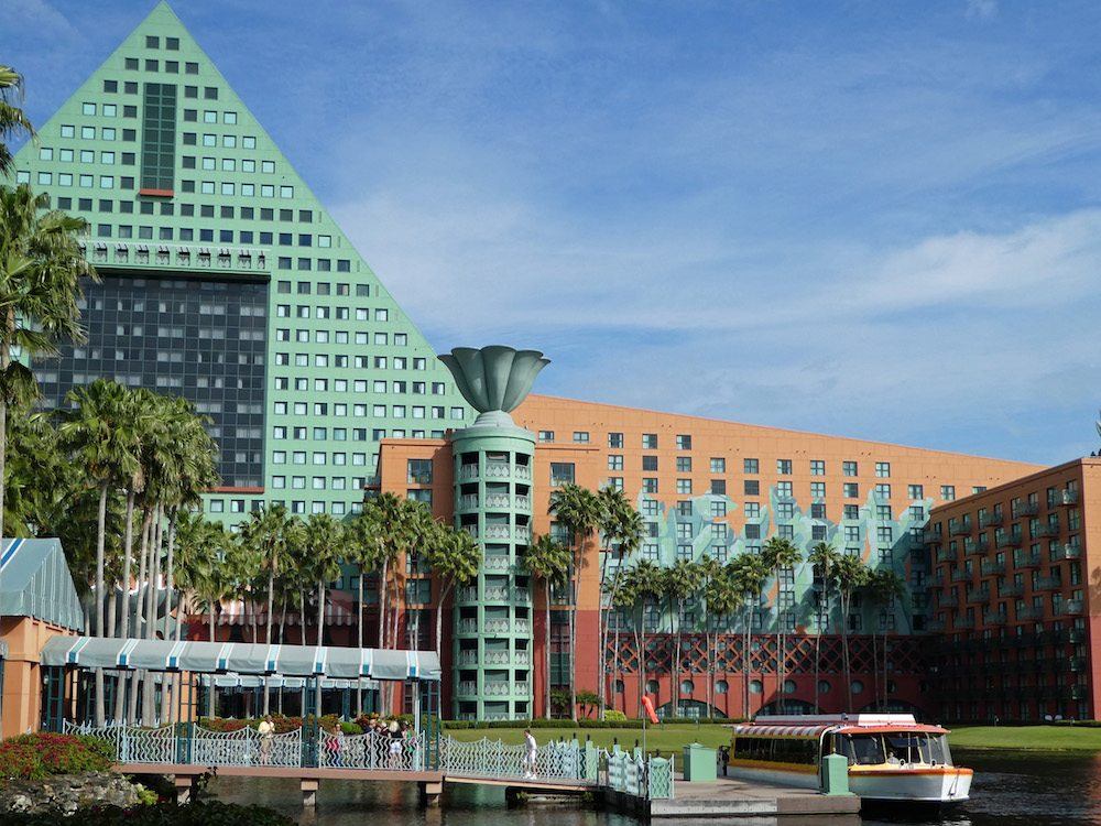 Boat Transportation at Walt Disney World Dolphin Resort
