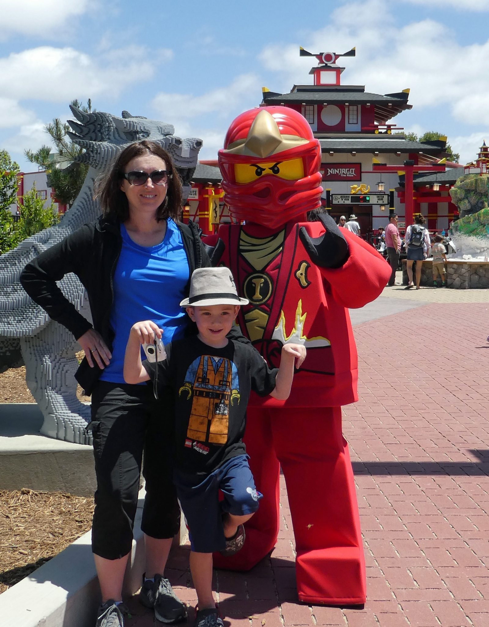 Ninjago World at LEGOLAND California