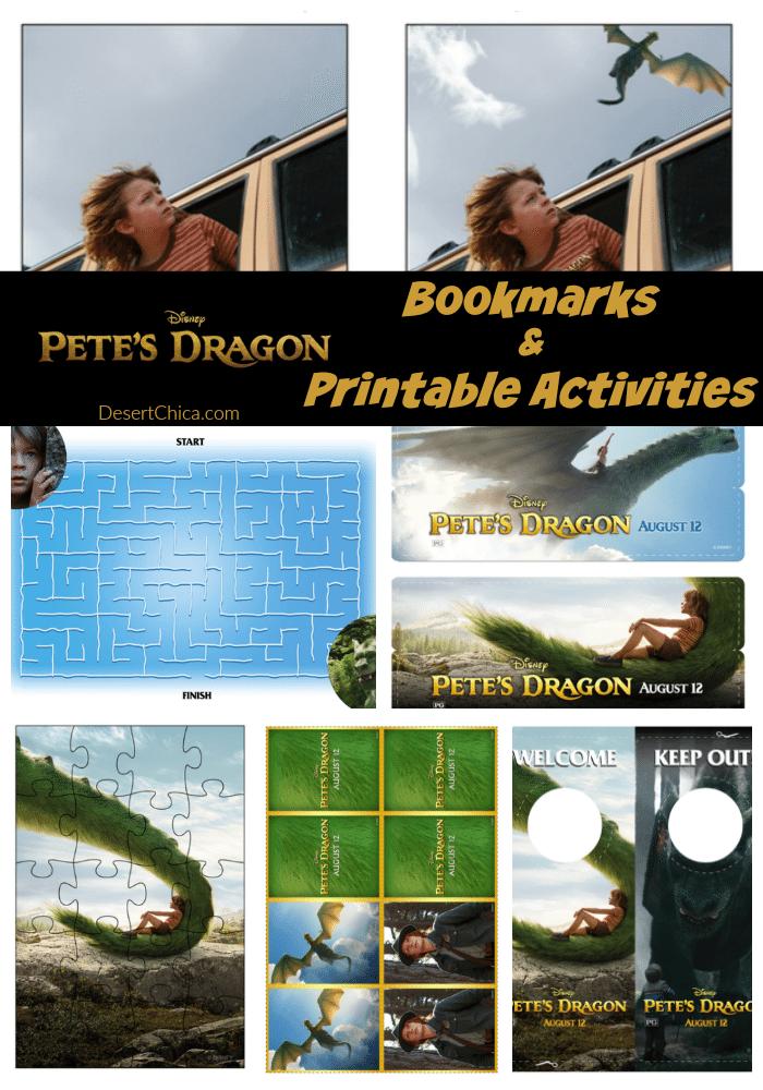 Pete's Dragon Printable Activities