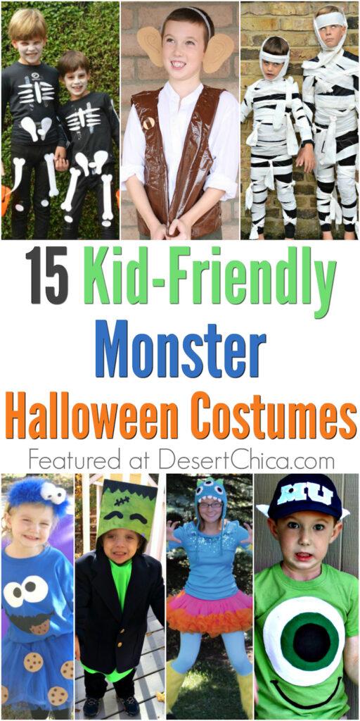 15 kid-friendly monster halloween costume ideas