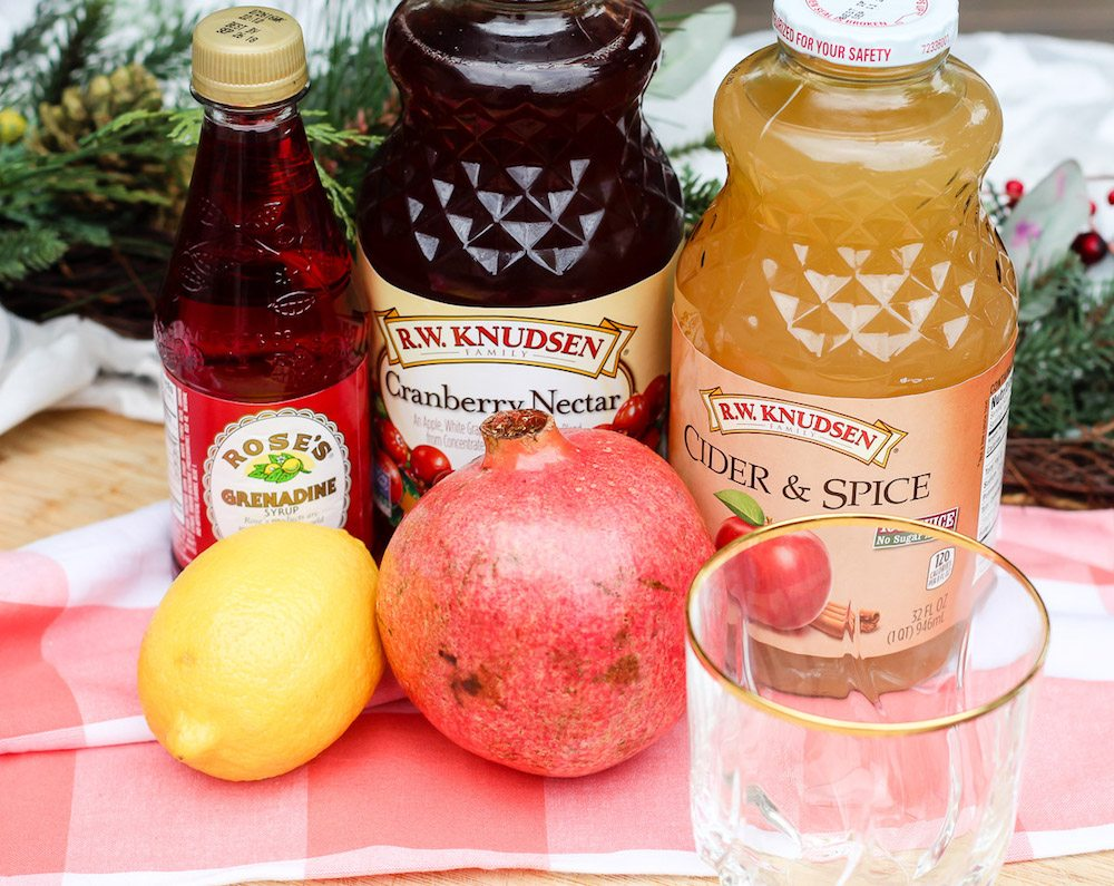 apple-pomegranate-mocktail-ingredients