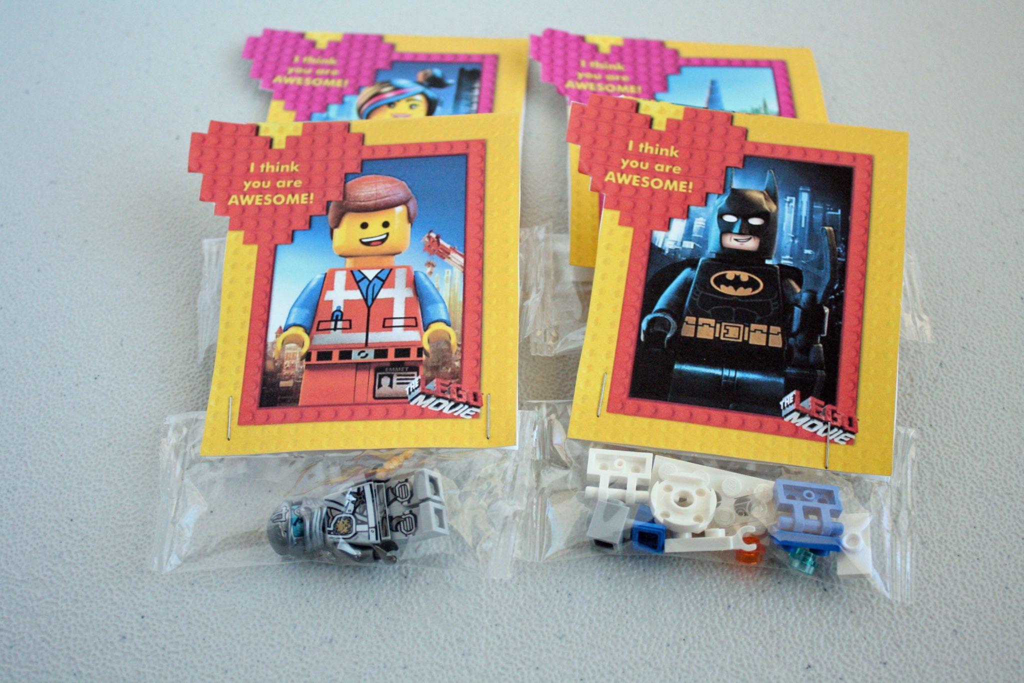 LEGO Movie Valentines Desert Chica