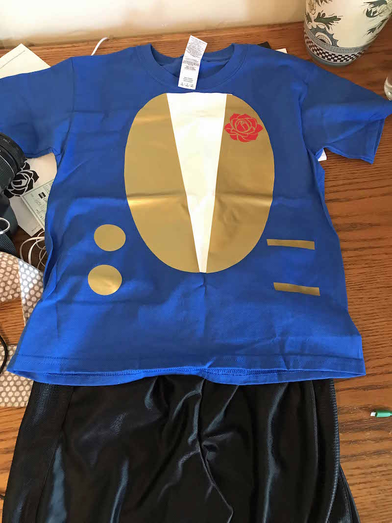 DIY Beast Costume Shirt