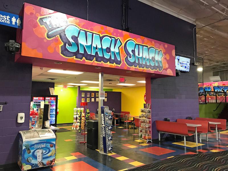 Snack bar at AZ Air Time Tucson