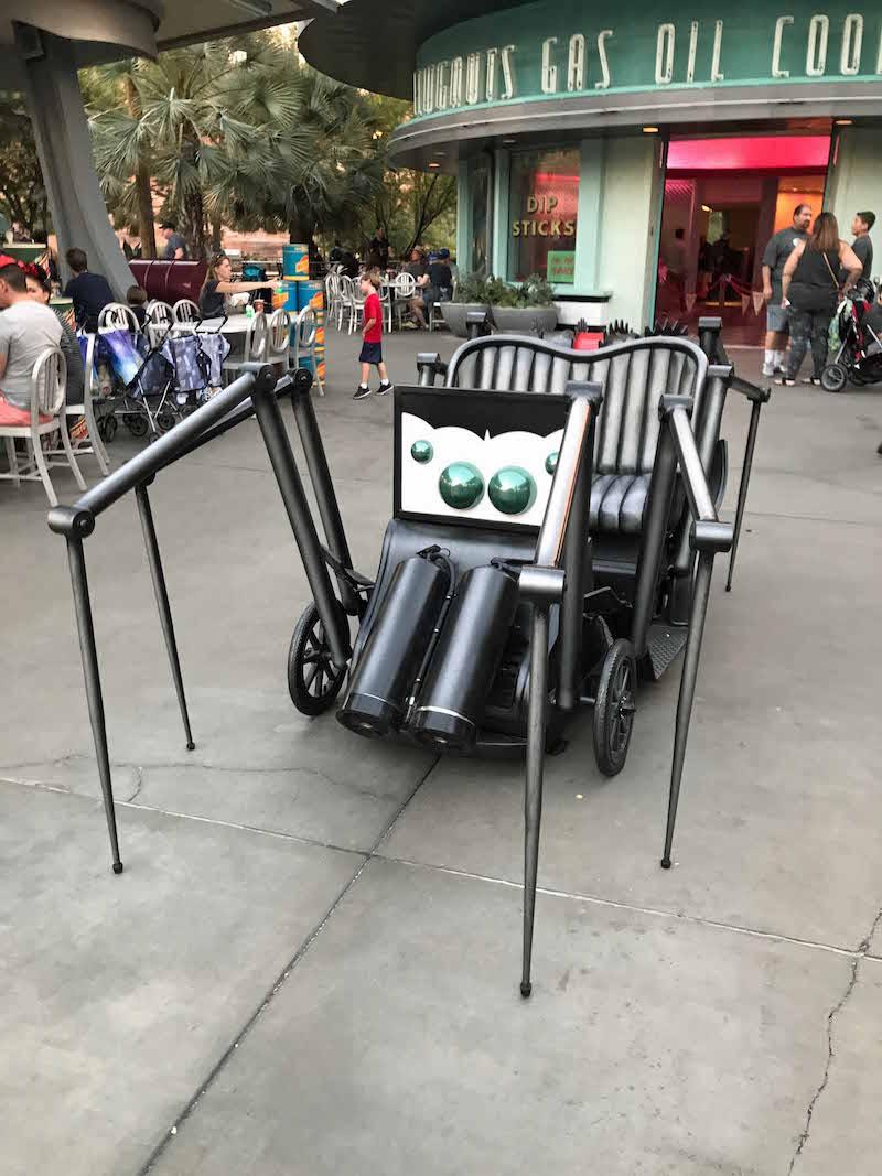 Spider Car at Flo's V8 Cafe for Haul-O-Ween