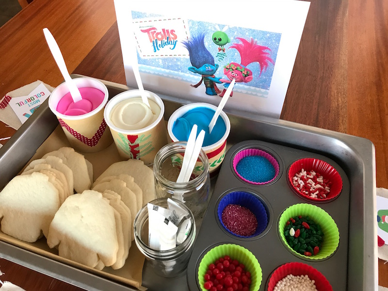 rolls Holiday Movie Cookie Decorating