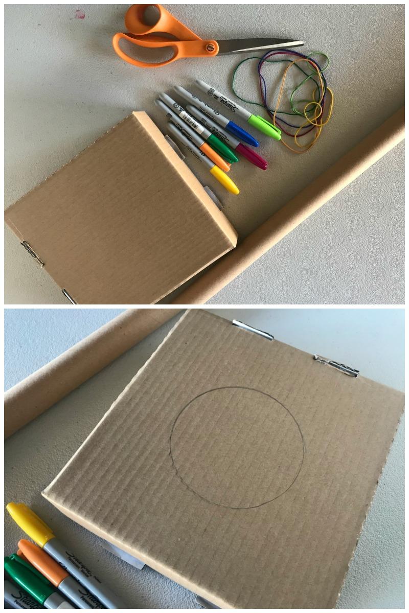 how to make a cardboard guitar materials