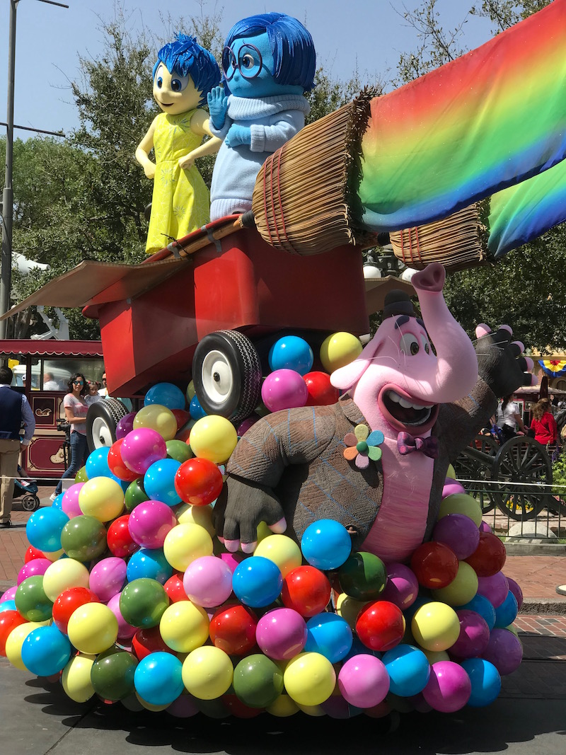 Watch the Pixar Play Parade during the Pixar Fest Scavenger Hunt at Disneyland