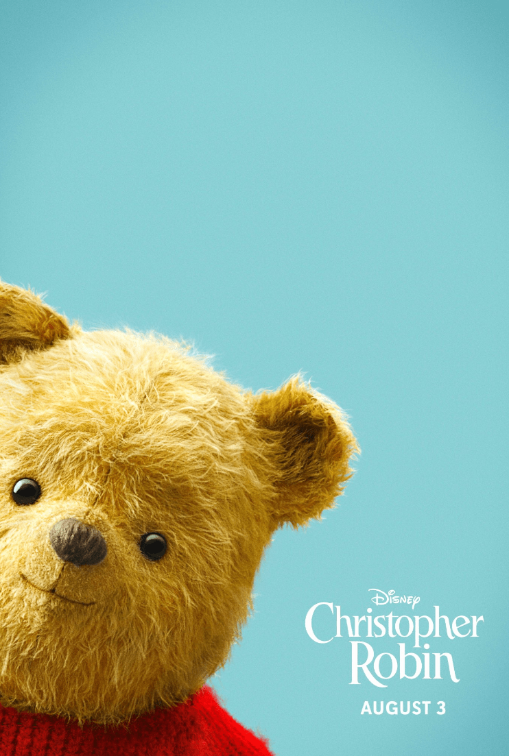 Winnie the Pooh Disneybounding at Christopher Robin red carpet