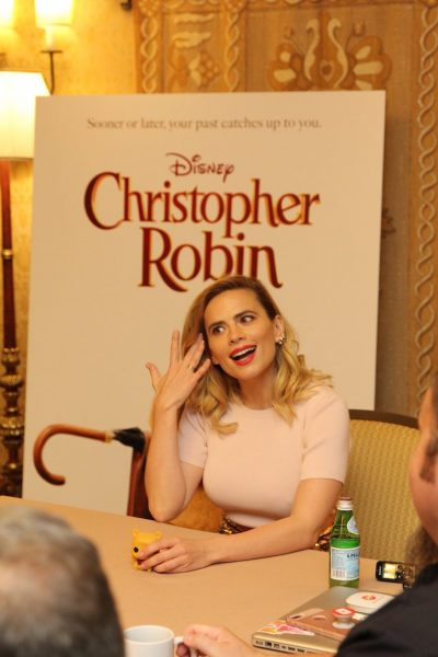 Hayley Atwell Interview for Christopher Robin Event