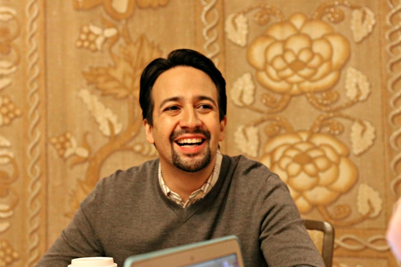 Interview with Lin Manuel Miranada for Mary Poppins Returns