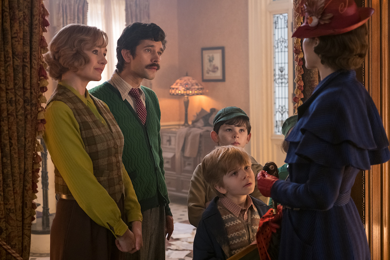 Mary Poppins Returns to help the Banks children again