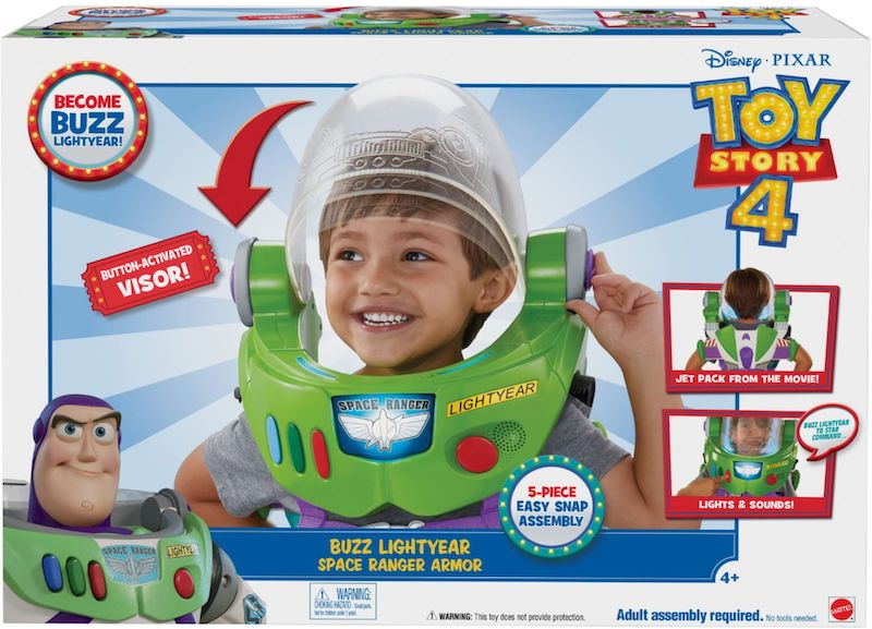 Buzz Lightyear toy