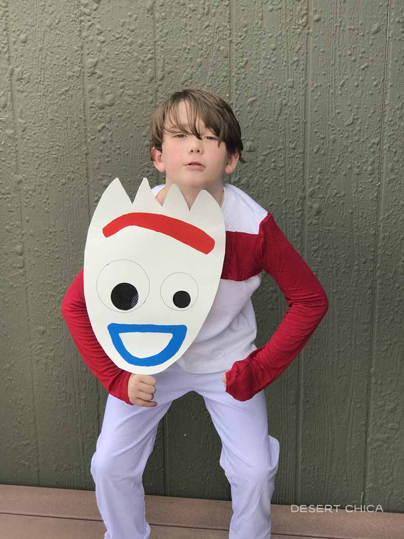 DIY Forky Costume