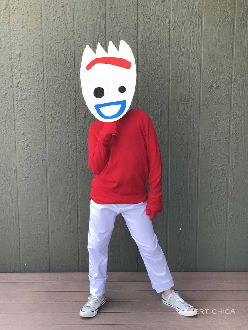 Forky Mask and costume