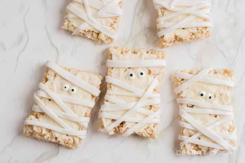Rice Krispies Mummies Recipe