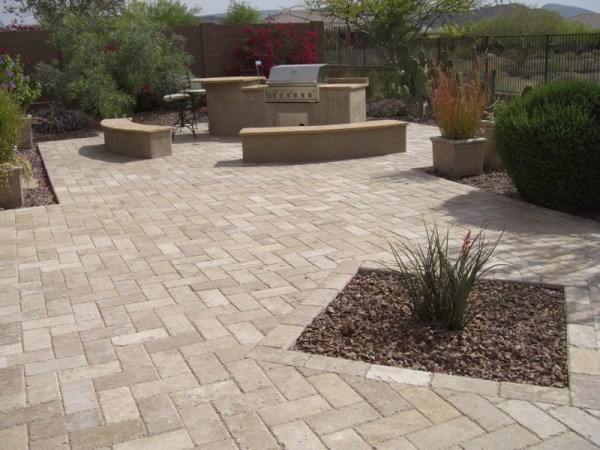 backyard living paver patios landscaping