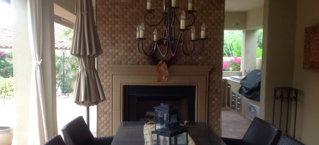 Our Scottsdale  Phoenix Outdoor Fireplaces Portfolio