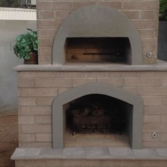 Outdoor Kitchen Pizza Oven Design Decorating Kitchens Brick & Fireplace: Phoenix | Desert ...