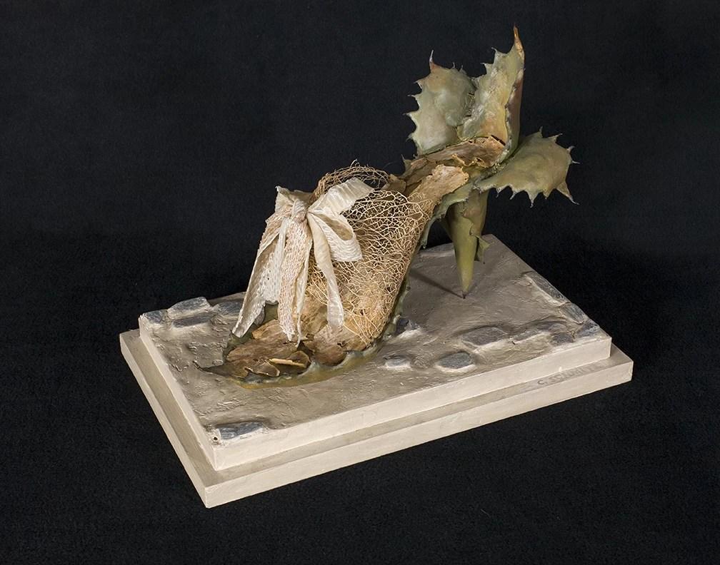 Ancient Toltec Fetish Shoe