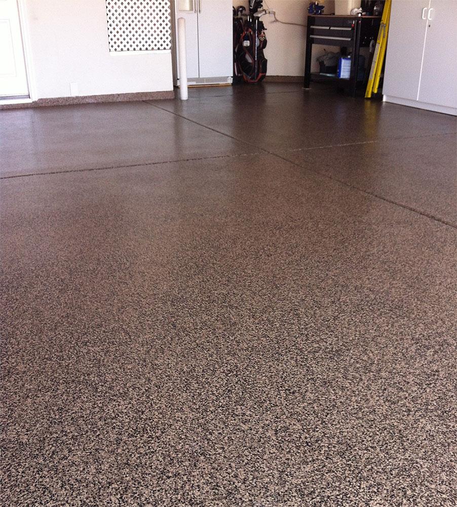 Granitex Quot Color Chip Epoxy Floors Quot Desert Decocrete