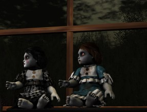 creepy puppets