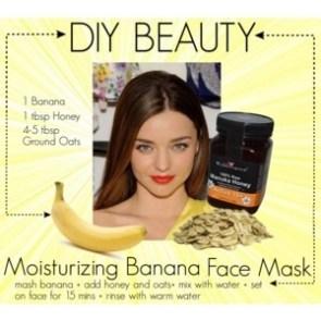 Moisterizing Banana Face MAsk