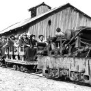 Baby Gauge excursion ready to depart - Courtesy National Park Service, Death Valley National Park