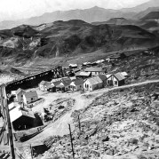 Ryan, California 1915. Terminus of road - Courtesy National Park Service, Death Valley National Park
