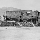Death Valley Junction - Zabriskie house under construction, Courtesy National Park Service, Death Valley National Park