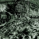 Loading ore at the Played Out Mine 1925 - Courtesy National Park Service, Death Valley National Park