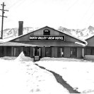 Ryan area snow storm 1950 - 1952 - Courtesy National Park Service, Death Valley National Park