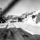 Ryan area snow storm 1950 to 1952 - Courtesy National Park Service, Death Valley National Park