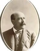 John Ryan was General Superintendent of the Pacific Coast Borax Co. - Courtesy National Park Service, Death Valley National Park