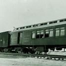 Last train on the Tonopah & Tidewater Railraod, June 14, 1946 - Courtesy National Park Service, Death Valley National Park