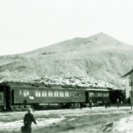 The Tonopah & Tidewater leaving Springdale, Nevada - Courtesy National Park Service, Death Valley National Park