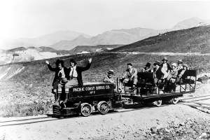 Baby Gauge Railroad - Courtesy National Park Service, Death Valley National Park