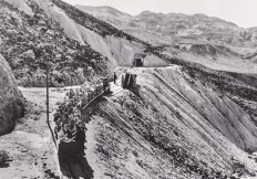 Death Valley tourists ride the Baby Gauge. County of Inyo, Eastern California Museum