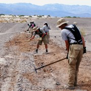 AmeriCorps in Death Valley. Courtesy NPS.