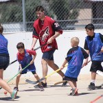 Ball Hockey With Louis Domingue