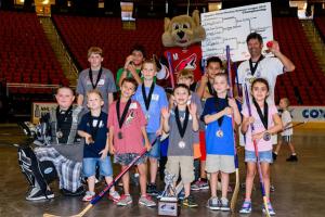 Street Hockey Summer League Champions