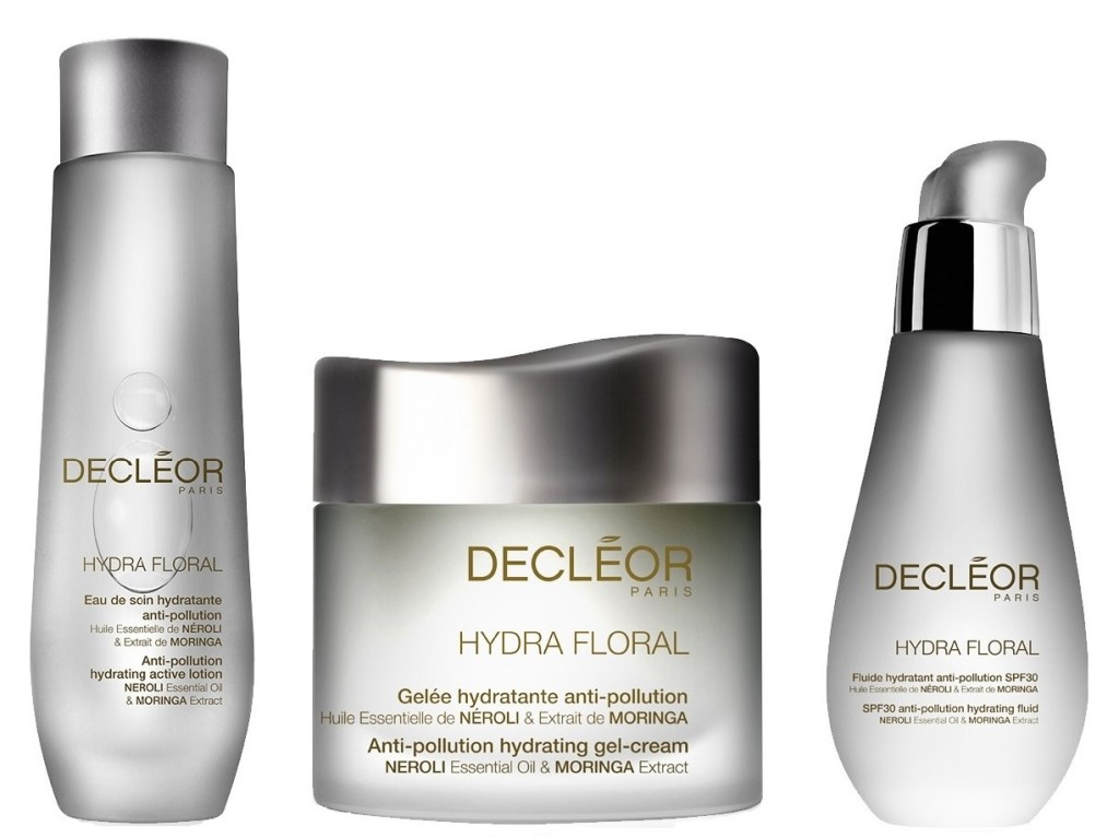 New Launch – Decleor Hydra Floral Anti-Pollution Trio